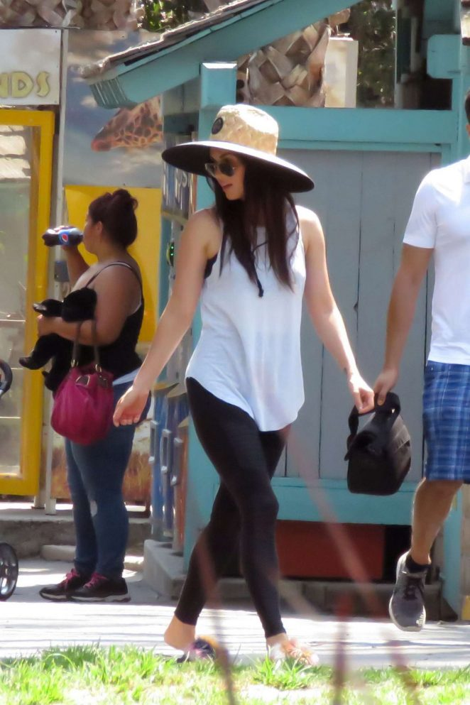 Megan Fox out in Santa Barbara