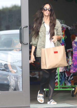 Megan Fox out shopping in Malibu