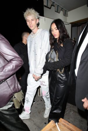 Megan Fox - Pictured at Delilah in West Hollywood