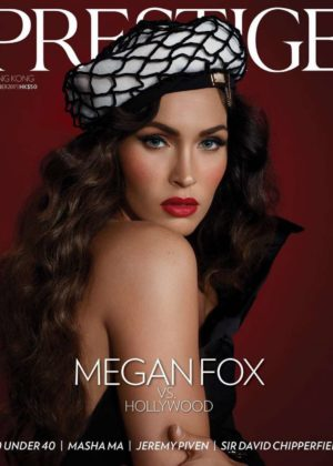 Megan Fox - Prestige Hong Kong Magazine (November 2017)