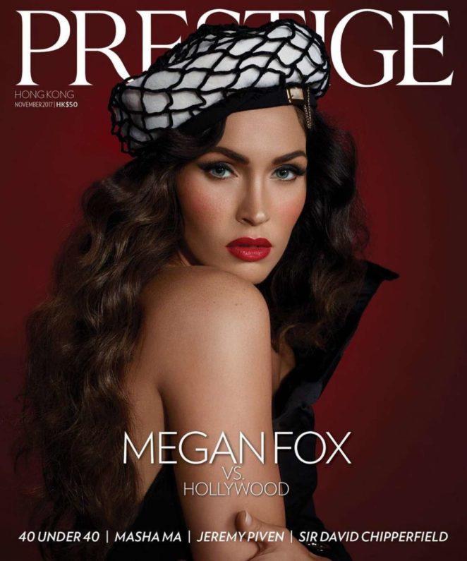 Megan Fox - Prestige Hong Kong Magazine (November 2017)
