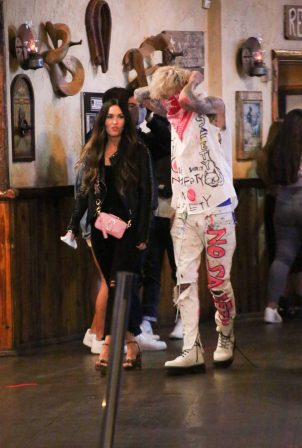 Megan Fox - Seen at a Saddle Ranch in West Hollywood