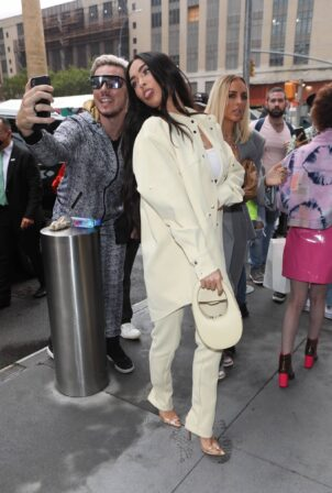 Megan Fox - Seen at the Revolve event during NYFW 2021 in New York