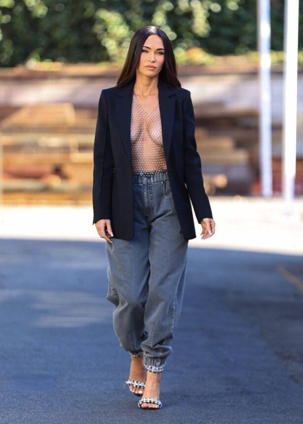 Megan Fox - Seen leaving a photoshoot In Los Angeles
