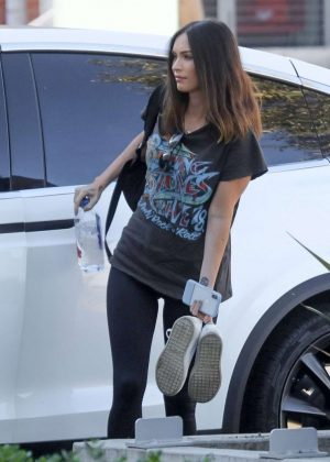 Megan Fox - Seena at Smashbox Studios In Culver City