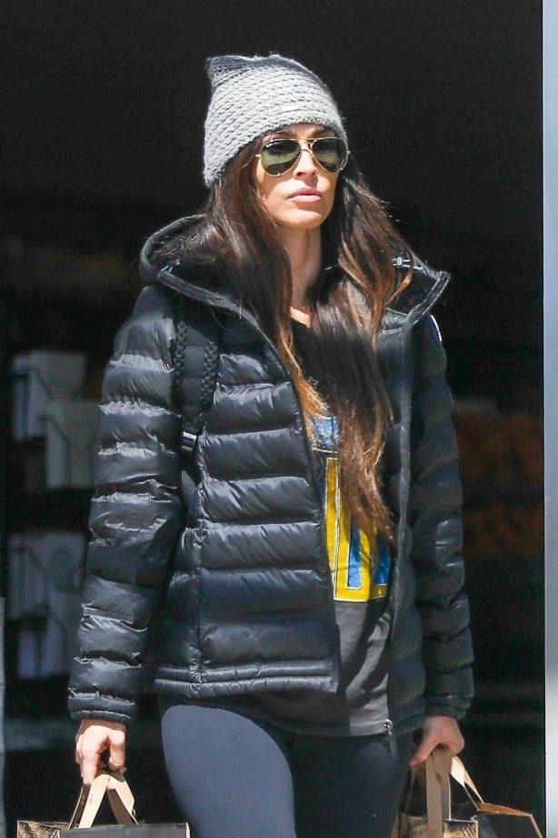 Megan Fox - Shopping at Erewhon in Los Angeles