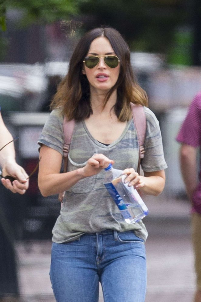 Megan Fox - Shopping Flower out in New Orleans
