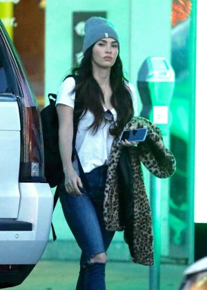 Megan Fox - Shopping in Beverly Hills