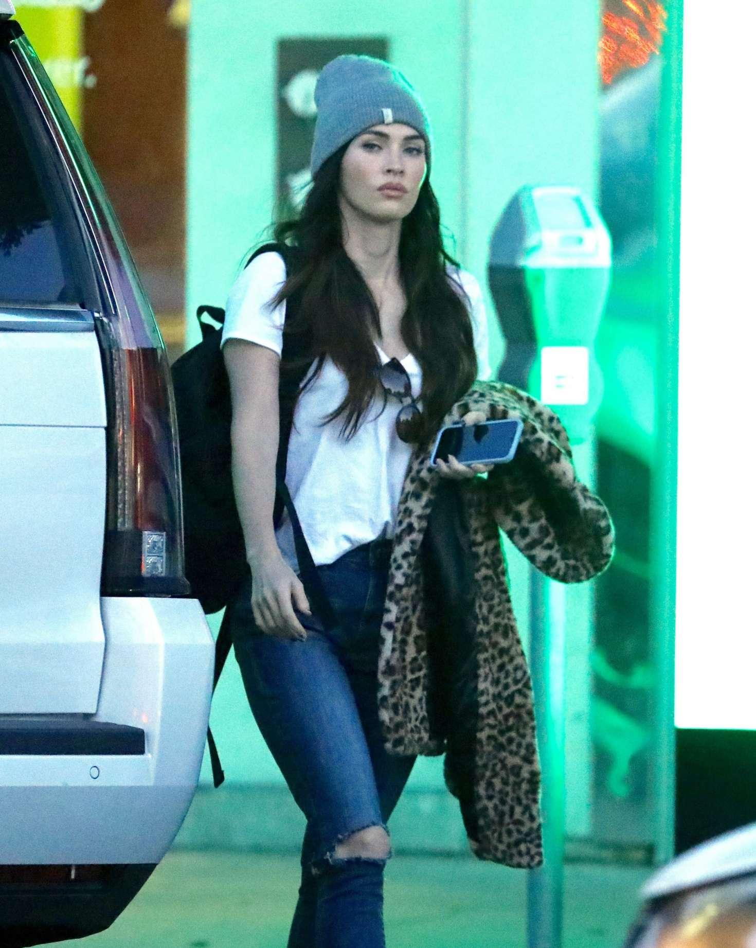 Megan Fox - Shopping in Beverly Hills