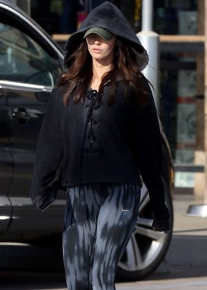 Megan Fox - Shops at Trancas Country Market in Malibu