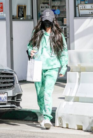 Megan Fox - Spotted while leaving skincare clinic in Beverly Hills