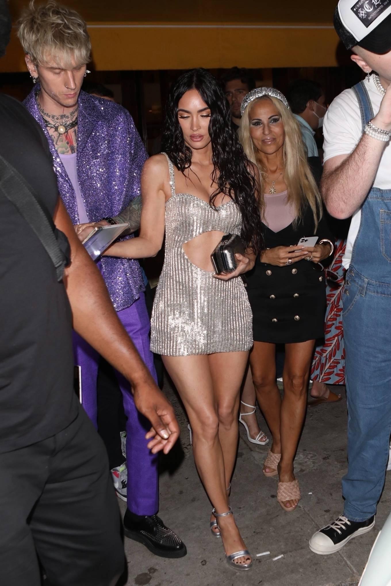Megan Fox 2021 : Megan Fox – Steps out for a post-VMA dinner in New York-03