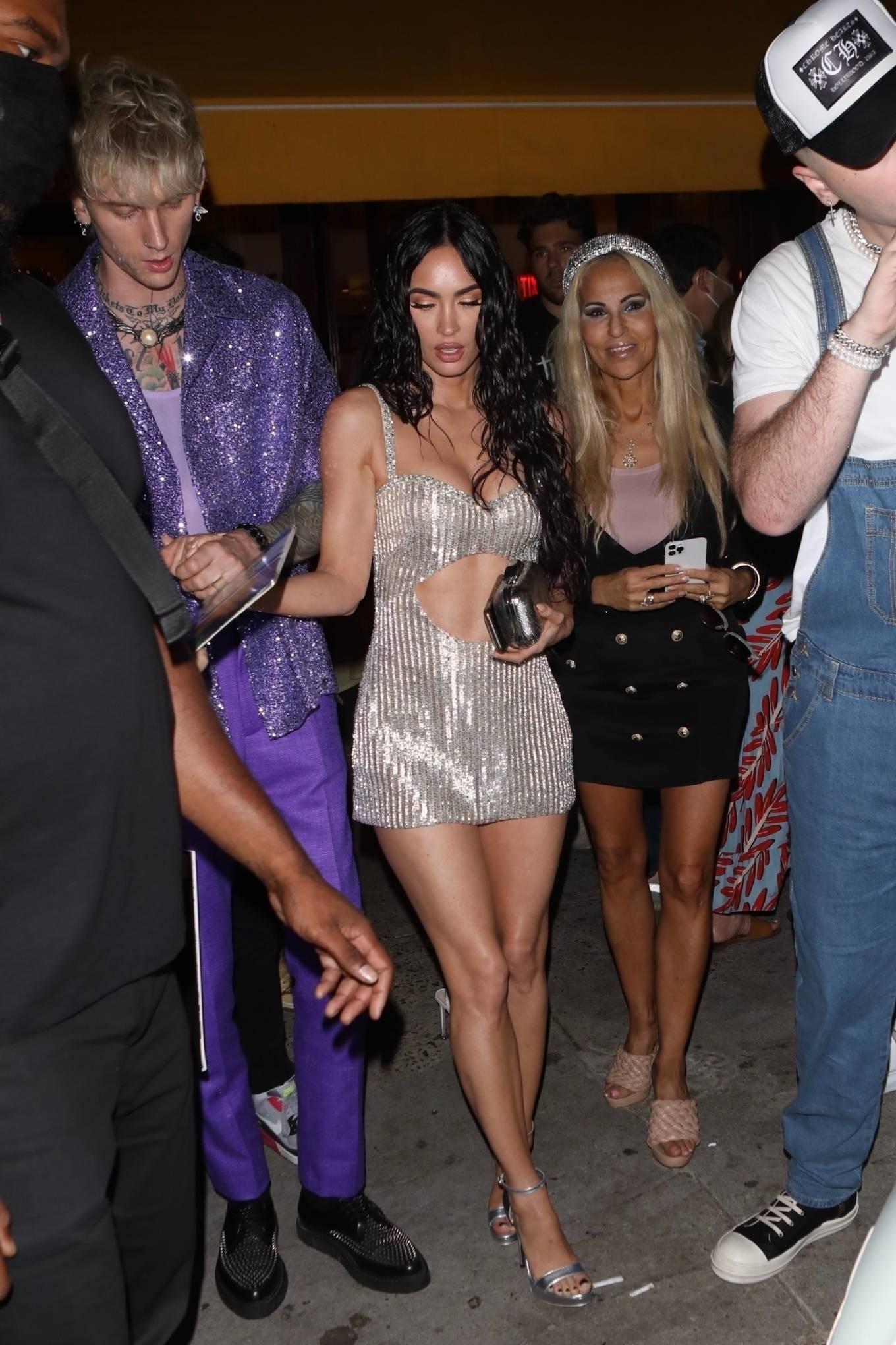 Megan Fox 2021 : Megan Fox – Steps out for a post-VMA dinner in New York-05
