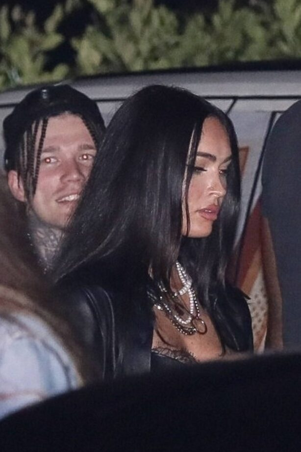 Megan Fox - Steps out for dinner at Nobu in Malibu