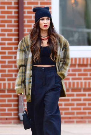 Megan Fox - Steps out in Calabasas