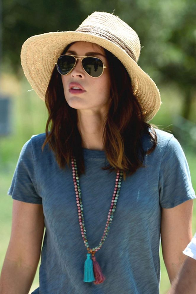Megan Fox - Visits Troy Ancient City in Canakkale