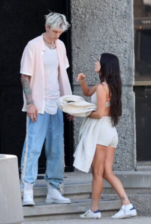Megan Fox - With Machine Gun Kelly spotted out in Los Angeles