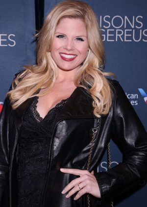 Megan Hilty - Opening night of Les Liaisons Dangereuses in New York