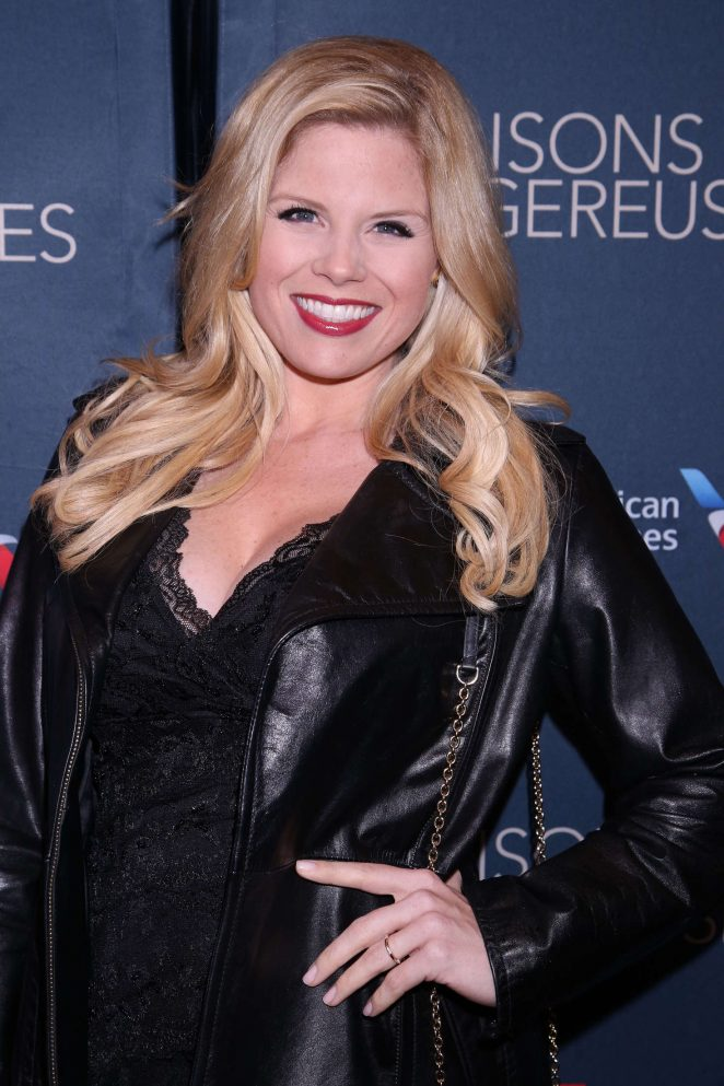 Megan Hilty – Opening night of Les Liaisons Dangereuses in New York