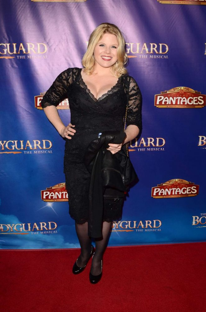 Megan Hilty – 'The Bodyguard' Opening Night in Los Angeles