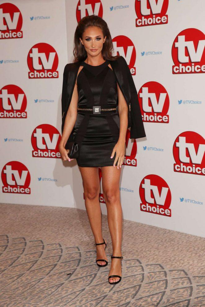 Megan McKenna - 2016 TV Choice Awards in London