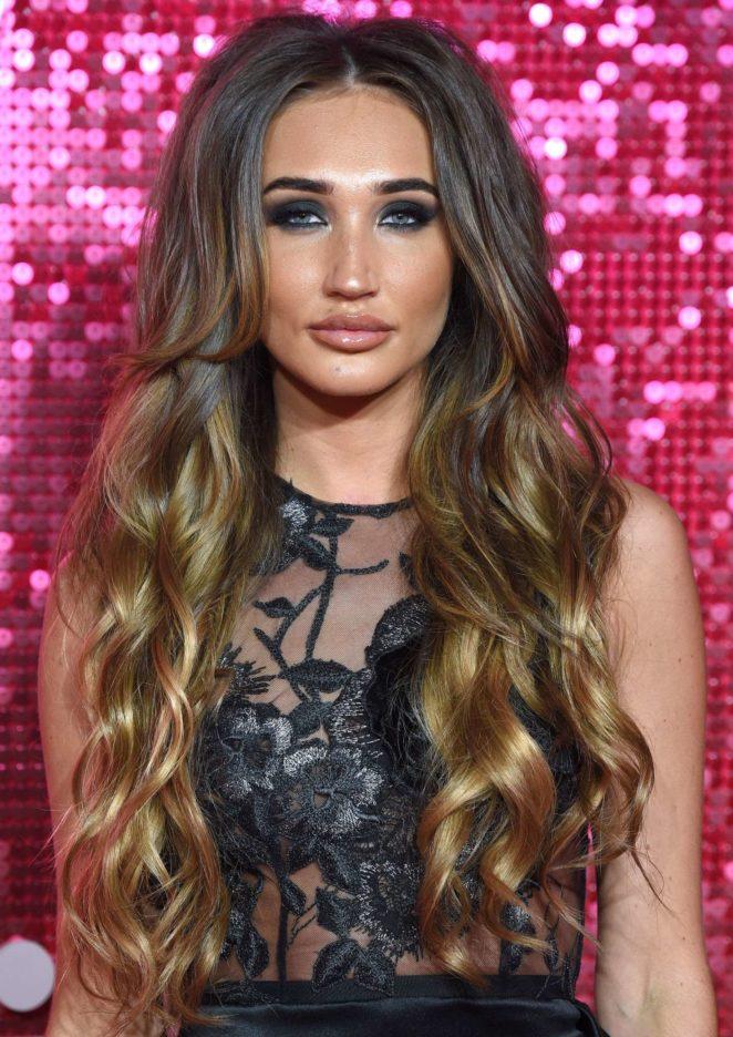 Megan McKenna: 2017 ITV Gala Ball -09