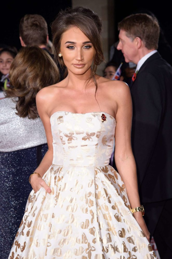 Megan McKenna - 2017 Pride Of Britain Awards in London