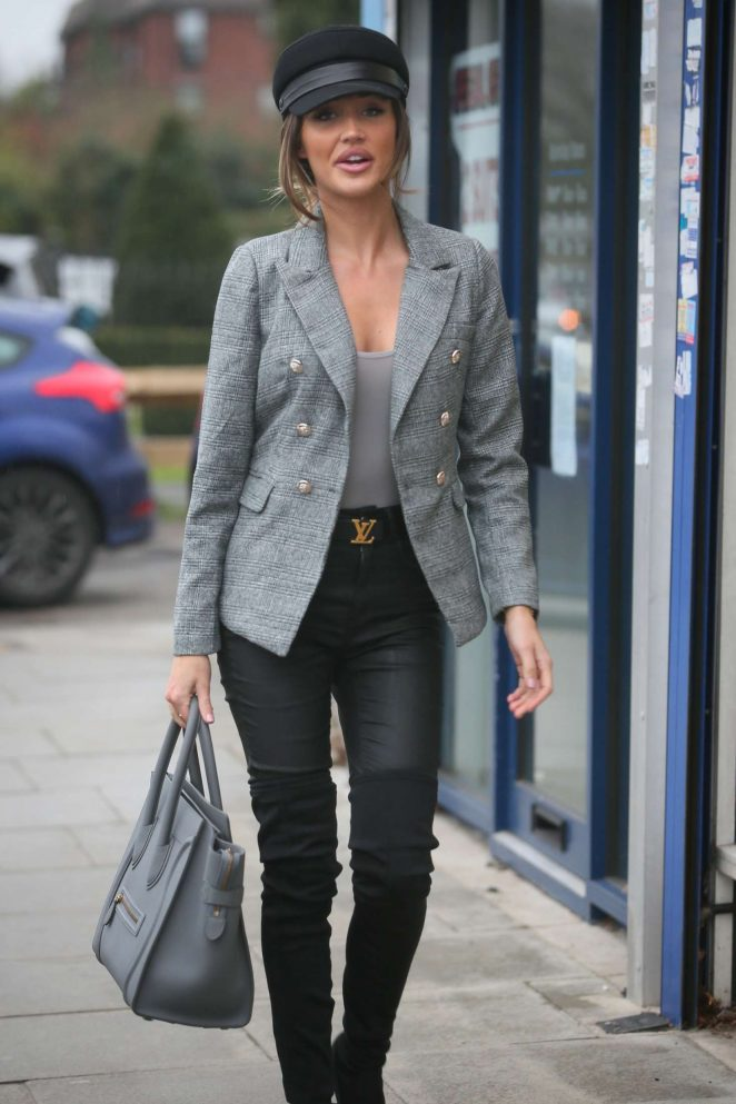 Megan McKenna - Arriving at the MGK Grill in Woodford