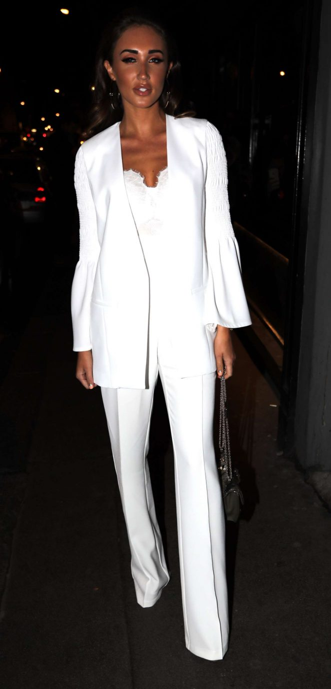 Megan McKenna at 100 Wardour St in London