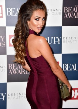 Megan McKenna - Beauty Awards 2016 in London