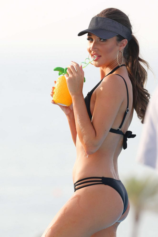 Megan McKenna - Bikini Photoshoot in Dubai