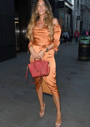 Megan McKenna - Bondi Sands Launch Party in London