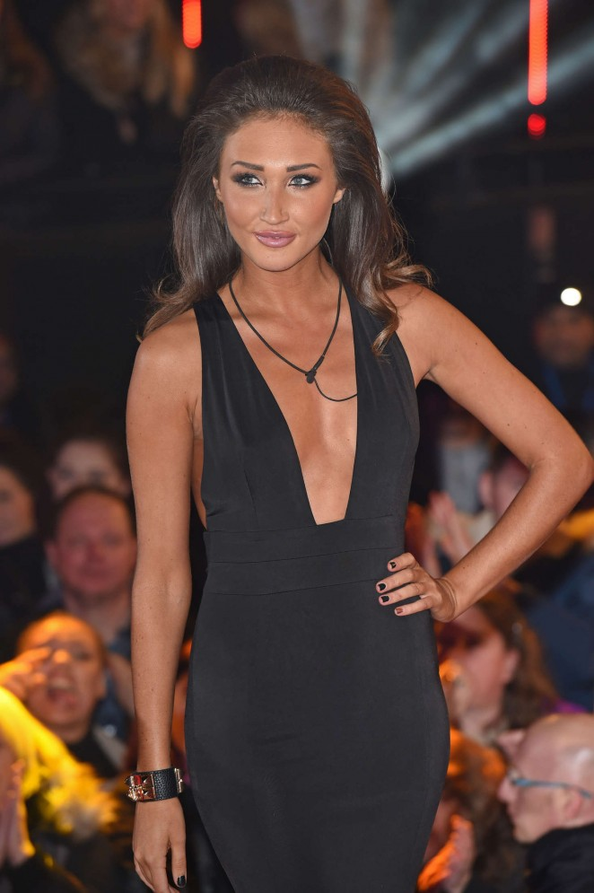 Megan Mckenna Celebrity Big Brother Eviction Night At