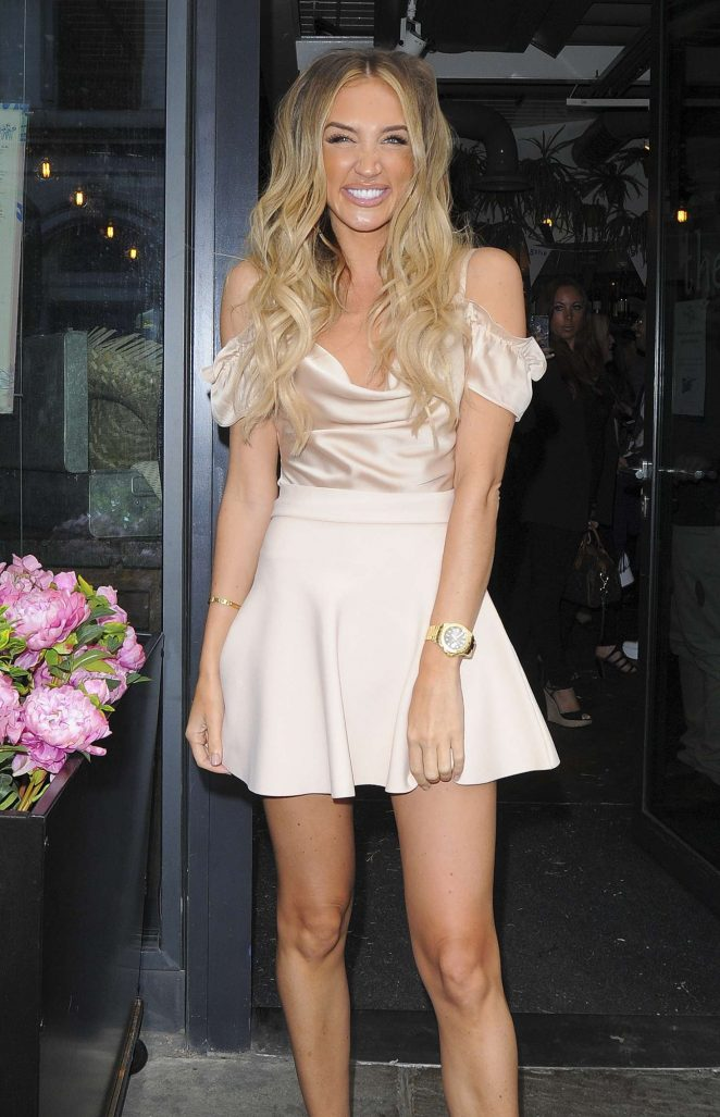 Megan McKenna - Celebs on The Farm Launch Party in London