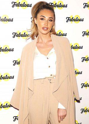 Megan McKenna - Fabulous Magazine 10th Birthday Party in London