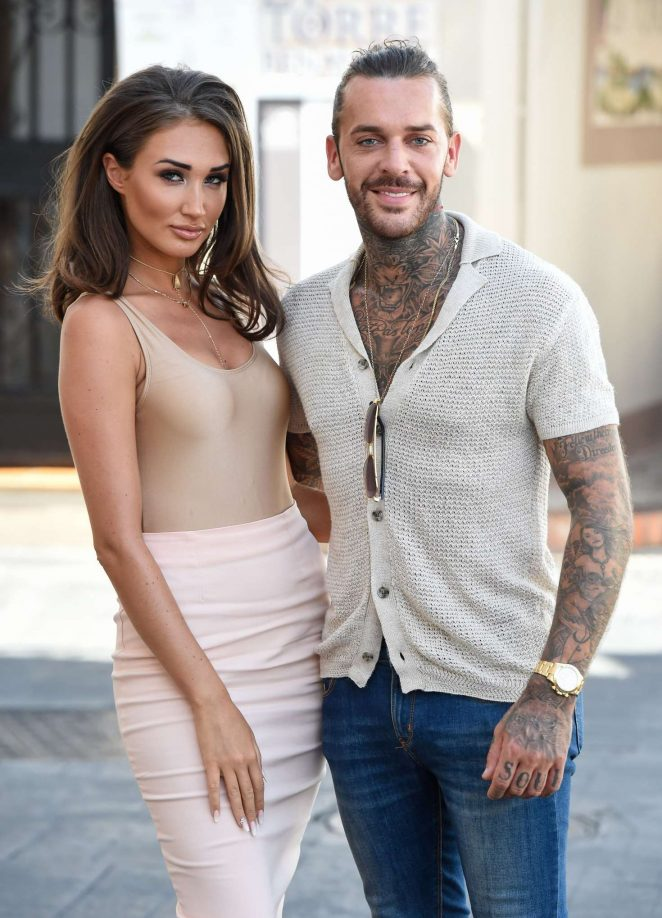 Megan Mckenna: Filming at Centuryon in Marbella -10