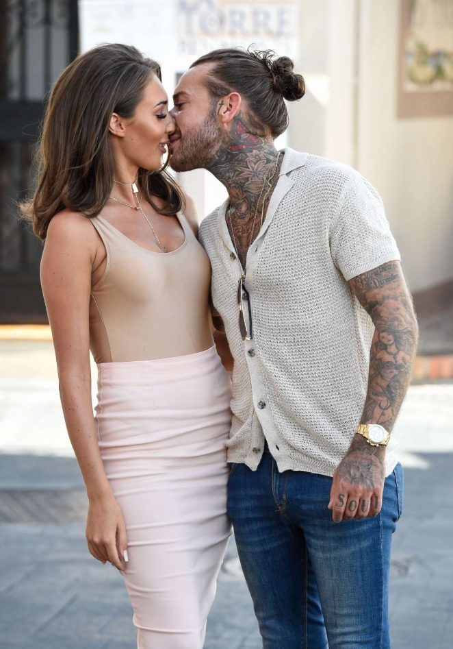 Megan Mckenna: Filming at Centuryon in Marbella -13