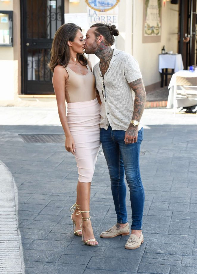 Megan Mckenna: Filming at Centuryon in Marbella -29