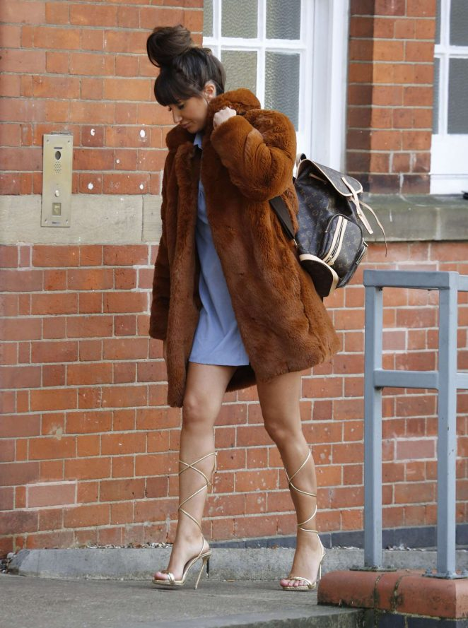 Megan McKenna - Filming Scenes for TOWIE in Essex