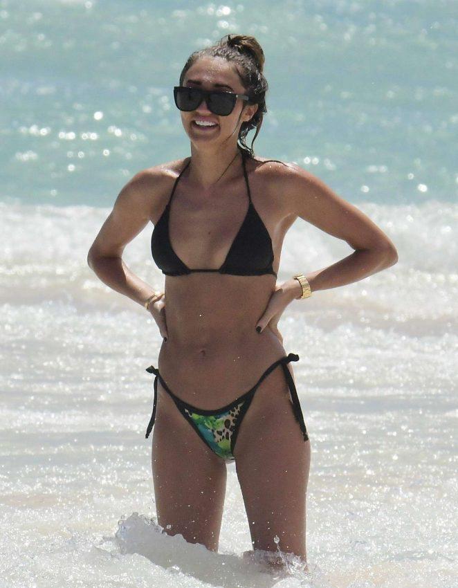 Megan McKenna in Bikini in Barbados