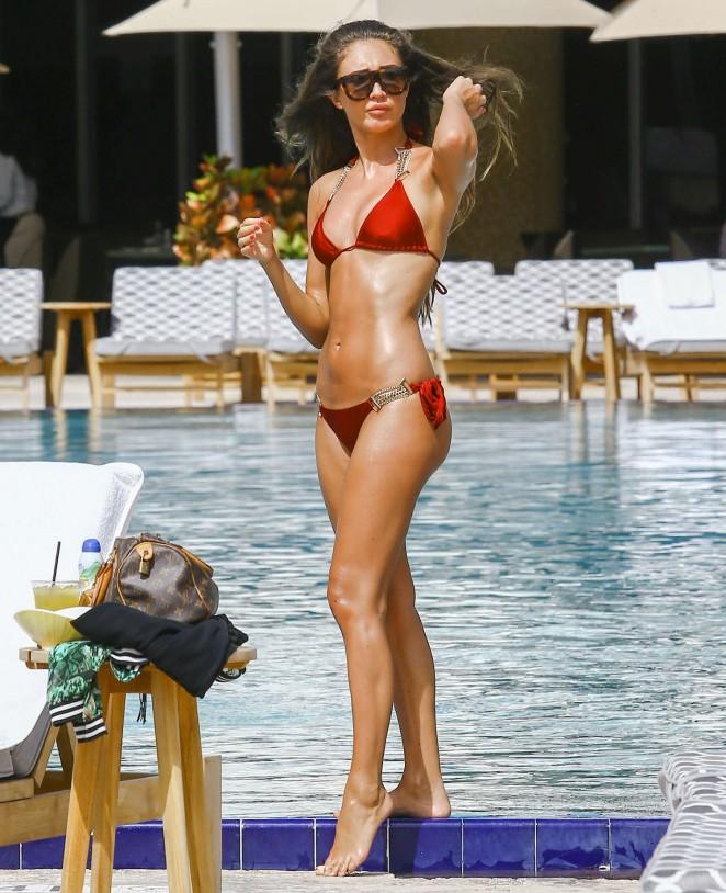 meagan follows bikini pictures