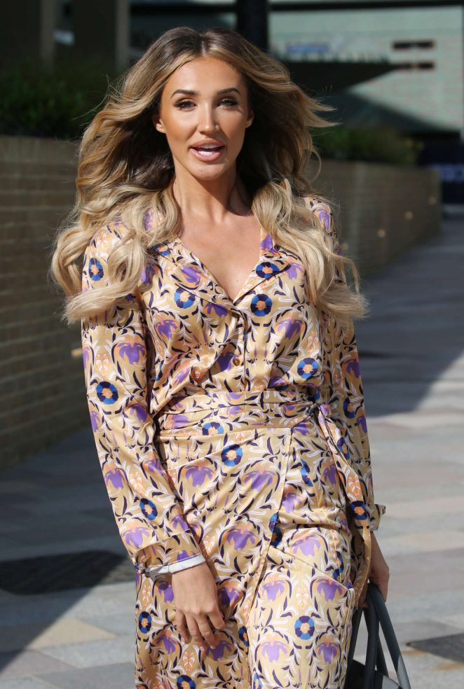 Megan McKenna - ITV Studios in London