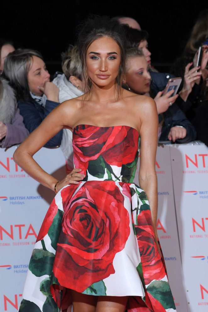 Megan McKenna - National Television Awards 2018 in London