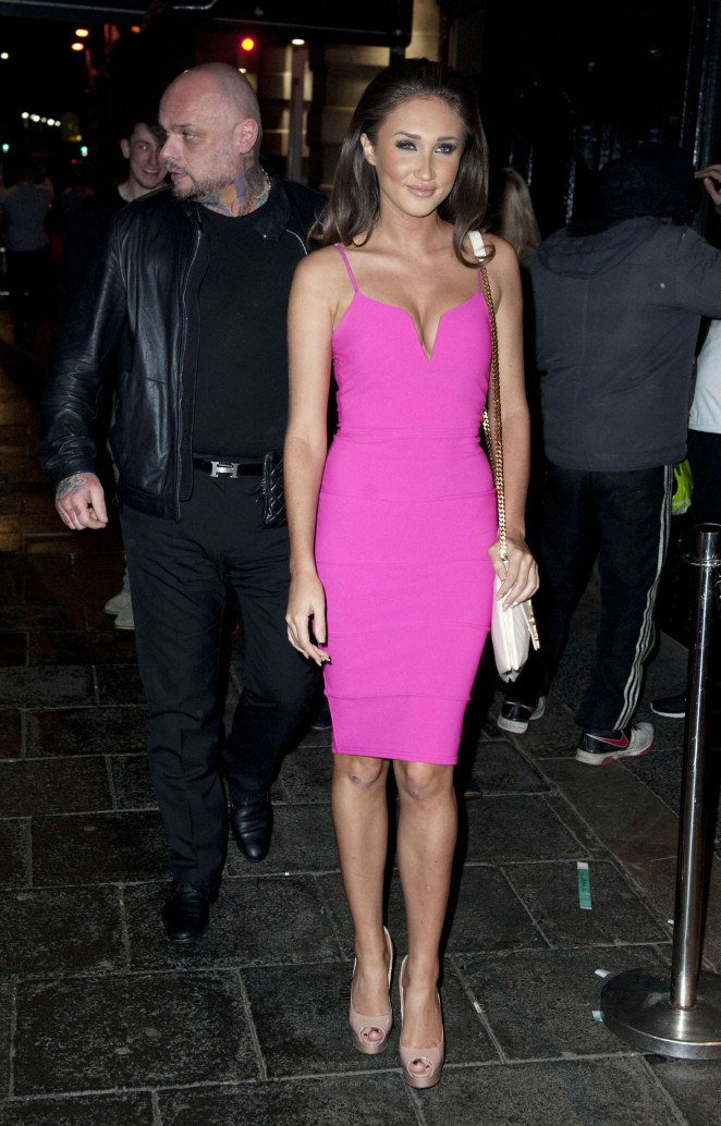 Megan McKenna Night out in Newcastle