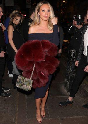 Megan McKenna - Opium Nightclub For Celeb's Go Dating Filming in London