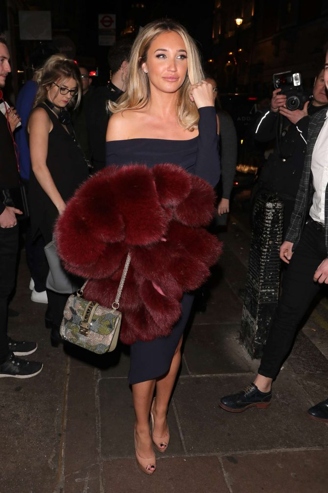 Megan McKenna – Opium Nightclub For Celeb's Go Dating Filming in London