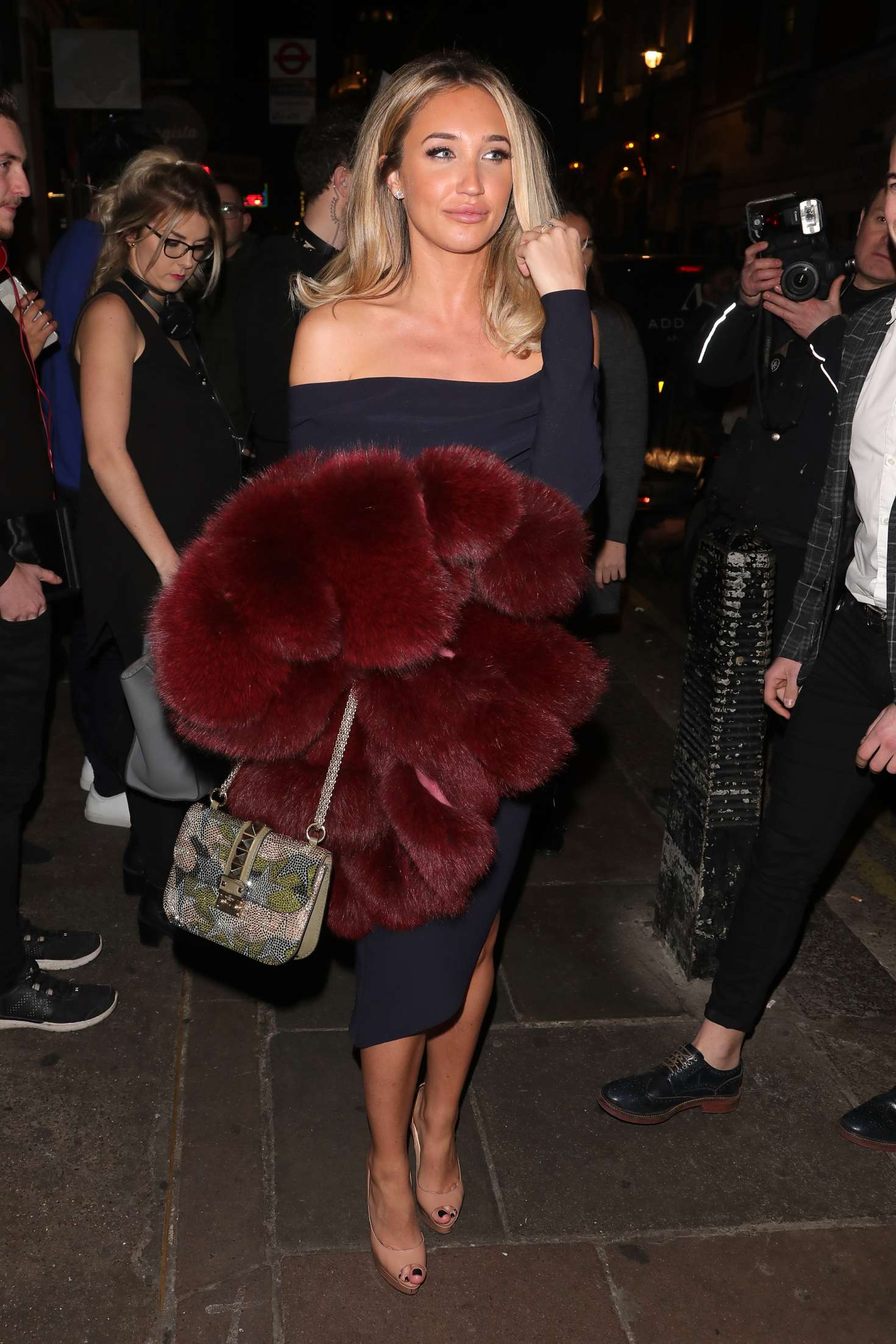 Megan McKenna – Opium Nightclub For Celeb's Go Dating Filming In London