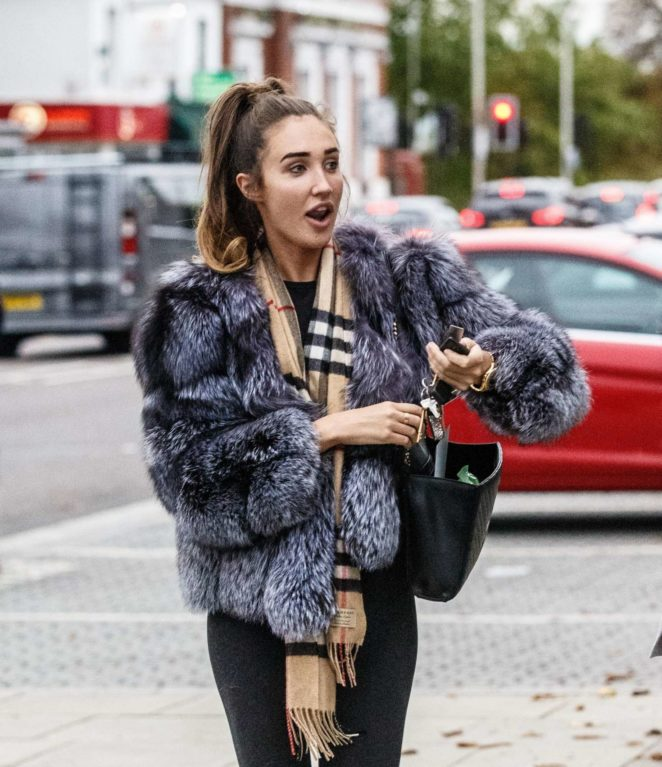 Megan McKenna – Out and about in Essex