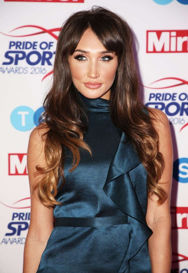 Megan McKenna - Pride of Sports Awards 2016 in London