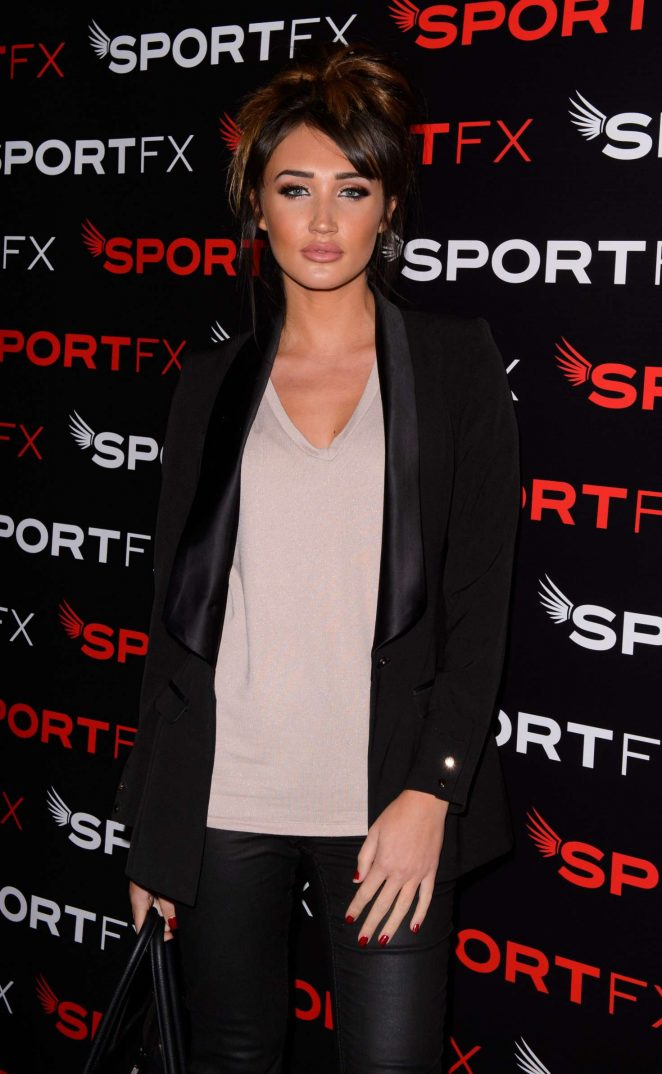 Megan McKenna - SPORTFX Cosmetic and Sports Launch Party in London